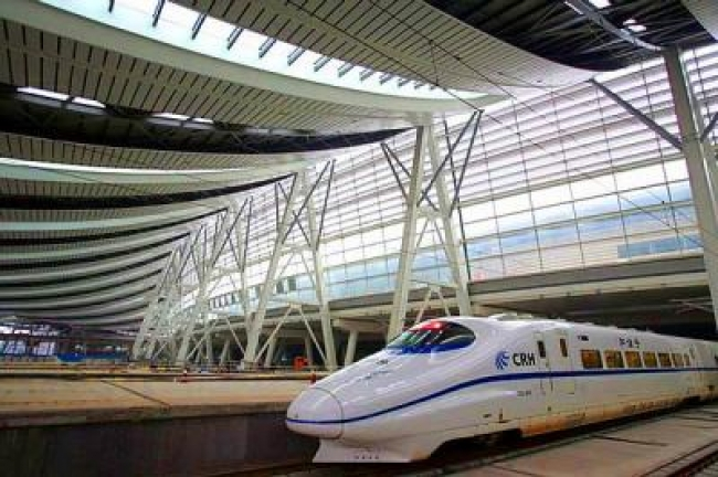 De Beijing  Shanghai en Tren de Alta Velocidad