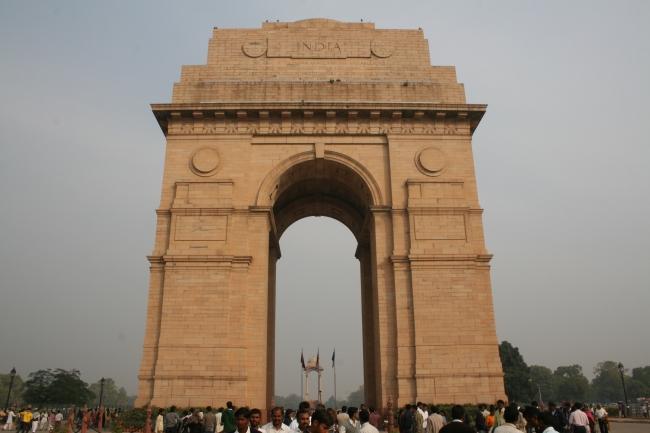 Puerta a la India. Delhi, capital