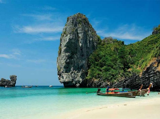 Bangkok y playa en Phuket
