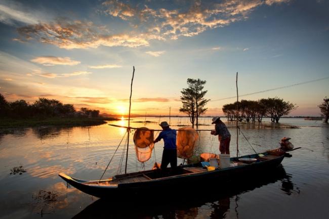 Vietnam: Extensión río Mekong