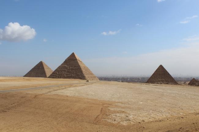 El Cairo y las pirámides de Gizeh