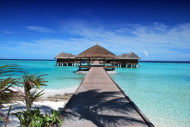Male, Maldivas. Playas exóticas y aguas cristalinas