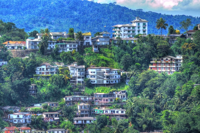 Panoramica Ciudad de Kandi- Sri Lanka