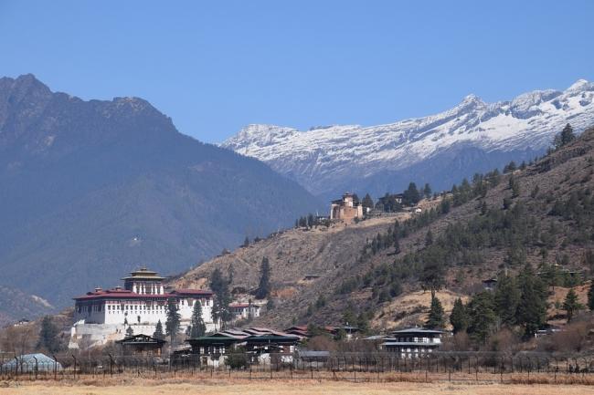 Himalayas, ciudad de Paro.