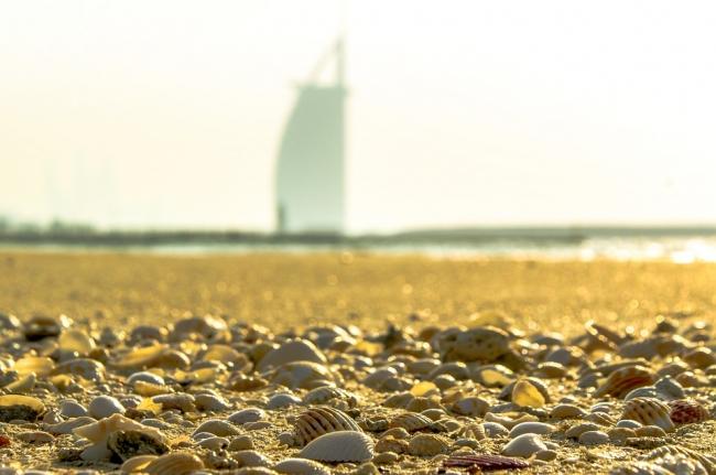 Dubai en la playa
