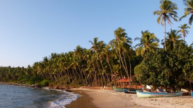 1- Sur de India con playas de Goa