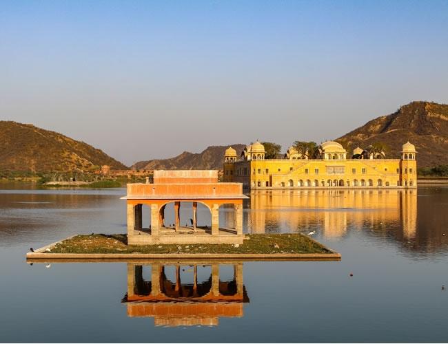 Jaipur. Palacio del Agua