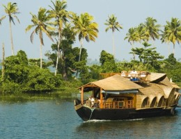 Aventura navegando los backwaters de Kerala en privado
