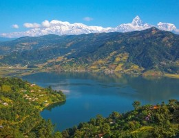 Nepal con Pokhara