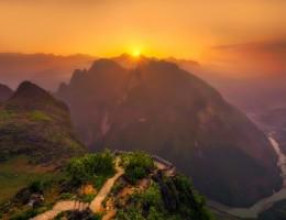 Norte de Vietnam y Camboya