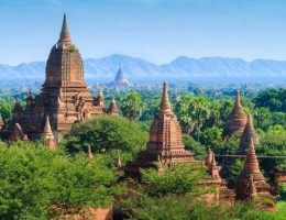 Myanmar de paso